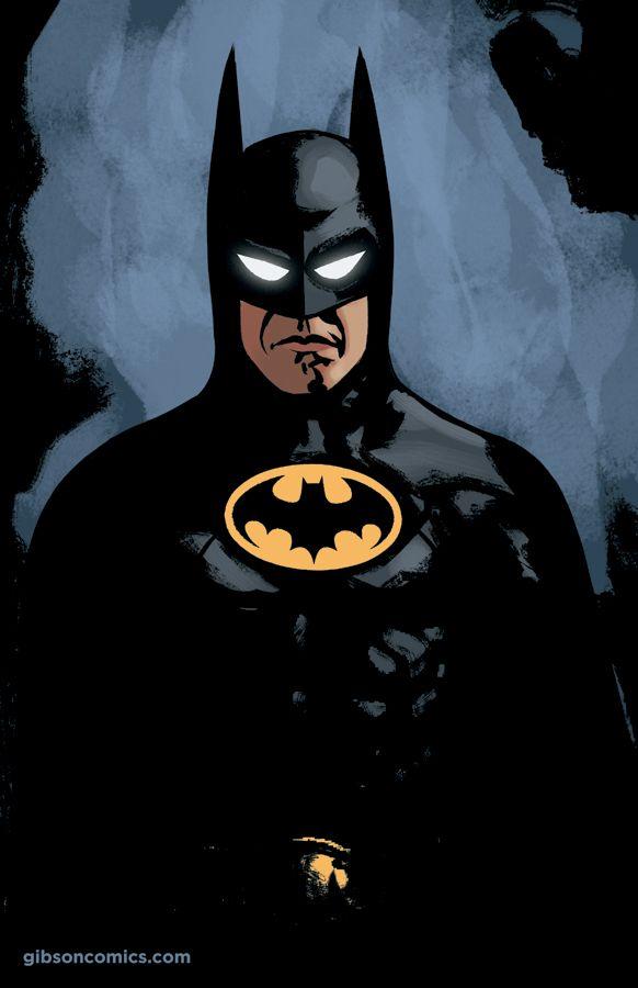 Updated: Batman (1989) illustration by Jordan Gibson