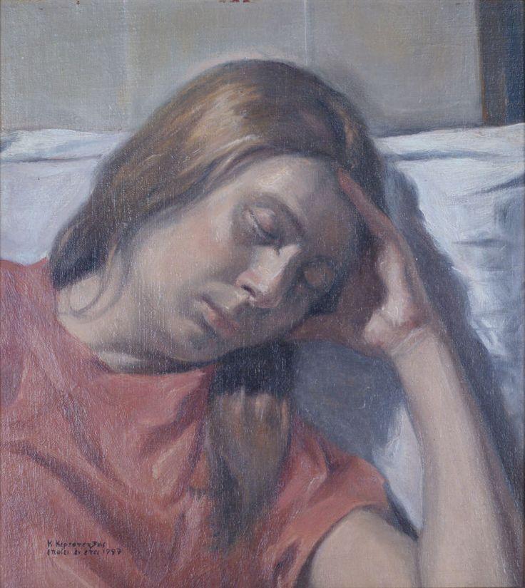 Ο ύπνος (έργο συλλογής / collection`s artwork)   Felios Collection