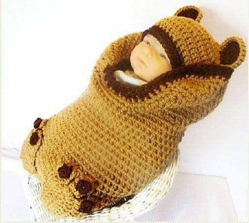 143 besten capullos tejidos Bilder auf Pinterest | Babyhäkelei ...