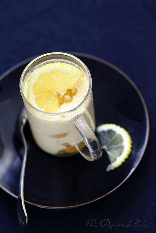 Tiramisù au citron et au limoncello