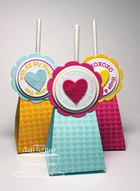 Lollipop Additions - Love, Lollipop Treat Die-namics, Heart STAX Die-namics - Jo di Collins