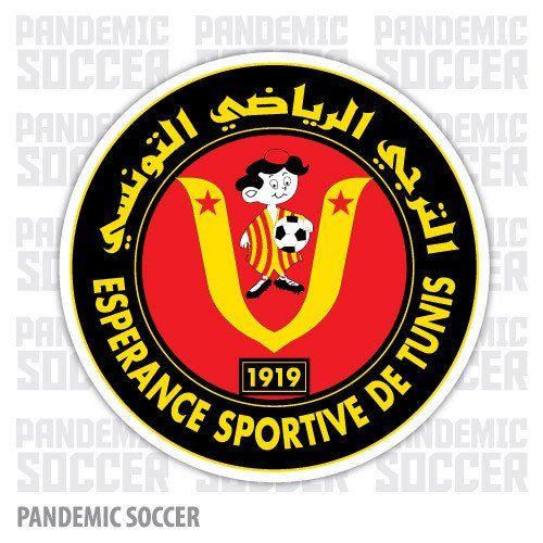 Esperance Sportive Tunis Tunisia Vinyl Sticker Decal Soccer