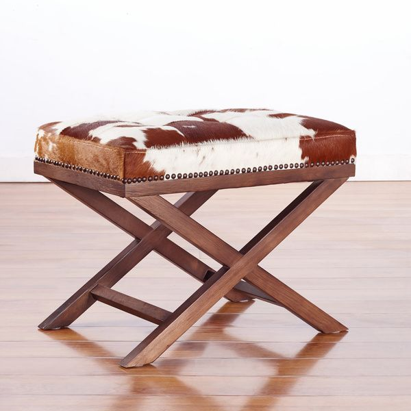 A statement piece of cowhide is a must.