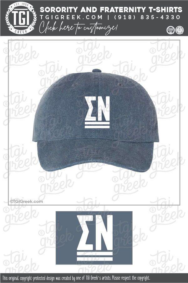 Sigma Nu Baseball Cap