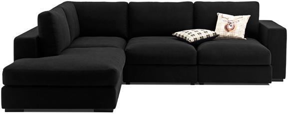 Modern Cenova sofas - Quality from BoConcept Stunning for mainly black interior