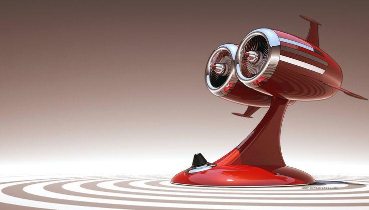 NFZ Karlzonn Twin Jet Heater by 600v.deviantart.com on @deviantART (Tortugan Space heaters!)