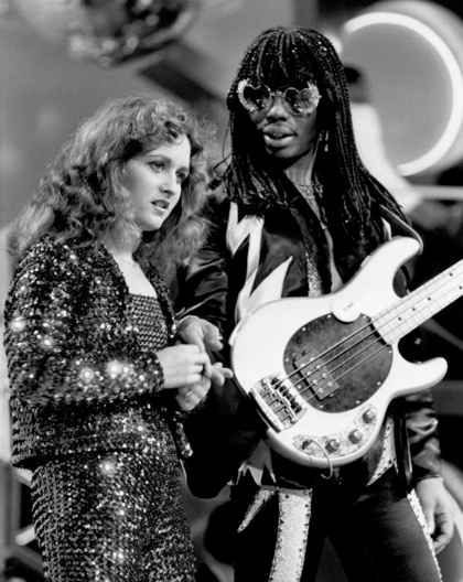 Rick James and Teena Marie...