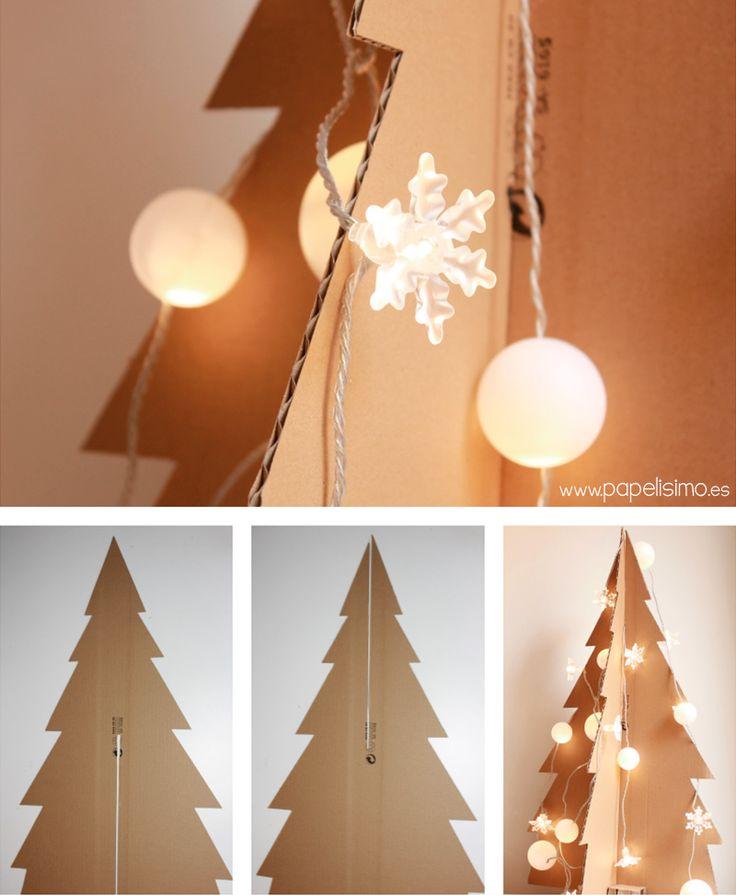 M s de 25 ideas incre bles sobre cajas de navidad en for Ideas decoracion navidad colegio