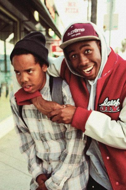 Two of the dopest in rap right now(in my opinion). That being said: Free Earl. Hope he comes back so Tyler can have his brother back.