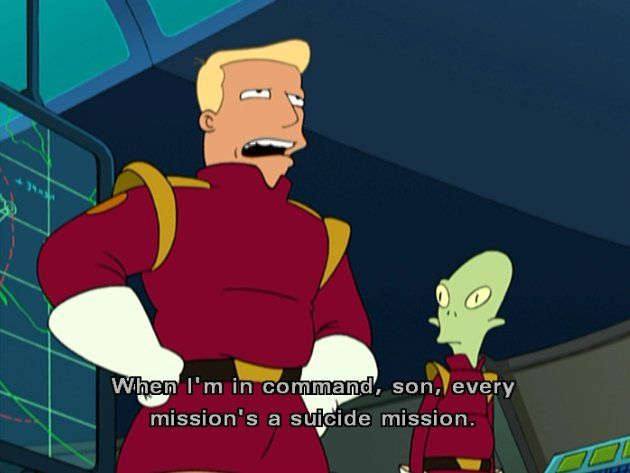 20 Quotes That Prove Zapp Brannigan Is The Sexiest Ladies Man Of The ...