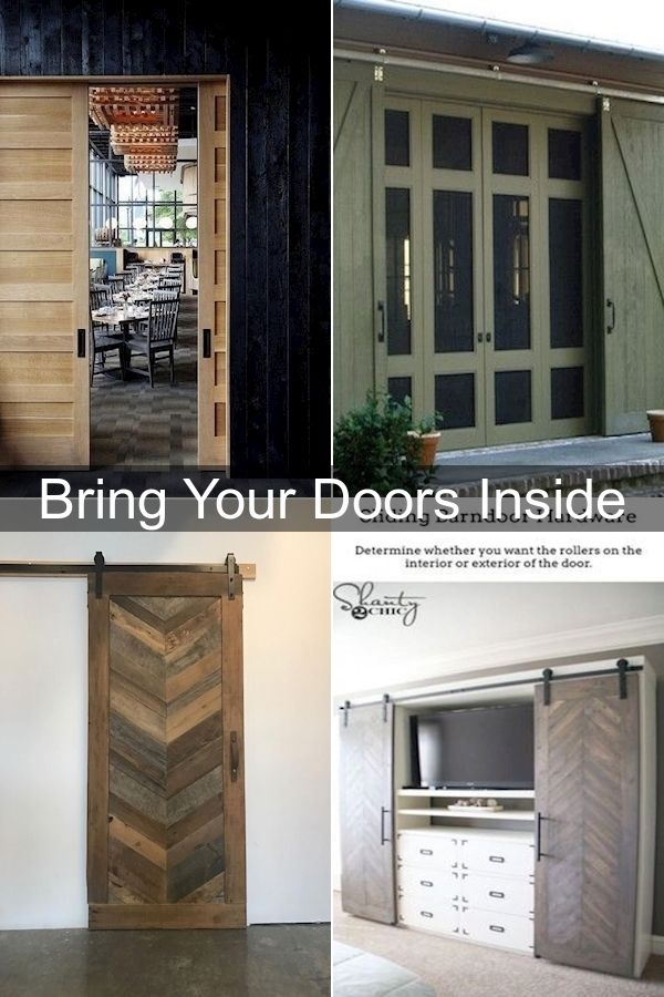 Pin On A Barndoor For Inside