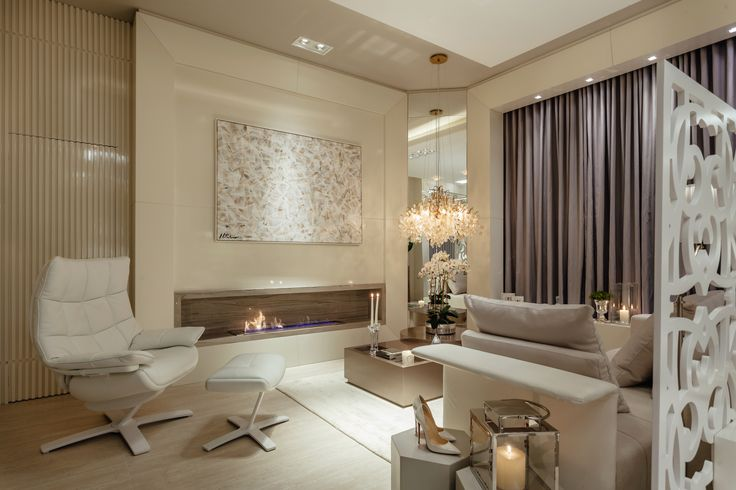 Projeto Lounge da Noiva, das arquitetas Juliana Motta e Priscila Viegas.