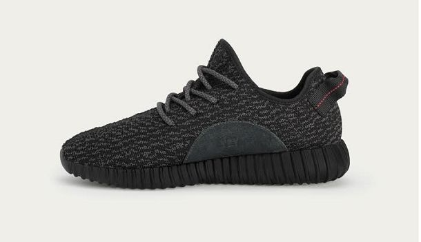 adidas Originals Yeezy Boost Black by Kanye West