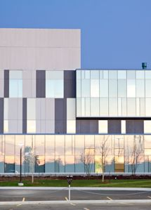Georgian College, ON - a beautiful facade using EQUITONE [tectiva] designed by Teeple Architects. #brilliantbuildings