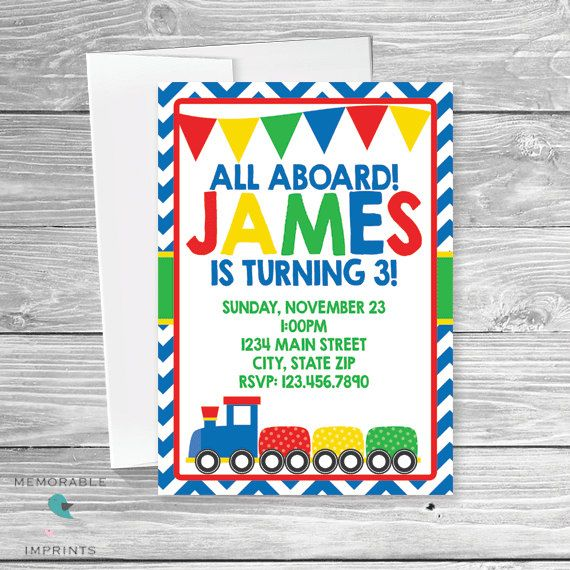 16 best boy birthday party invitations images on pinterest boy train birthday invitation birthday invitations boy birthday invitations train birthday boy birthday invitations printable filmwisefo Image collections