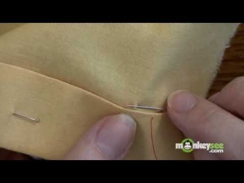 Sewing - The Whip Stitch - YouTube