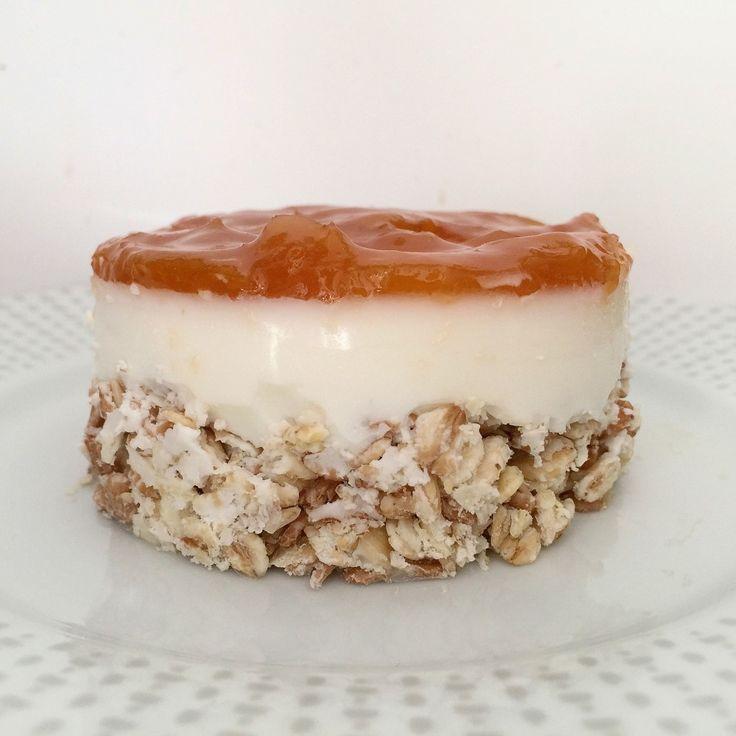 Mini Cheesecake allo Yogurt Senza Burro