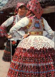 Sióagárdi népviselet - Hungary