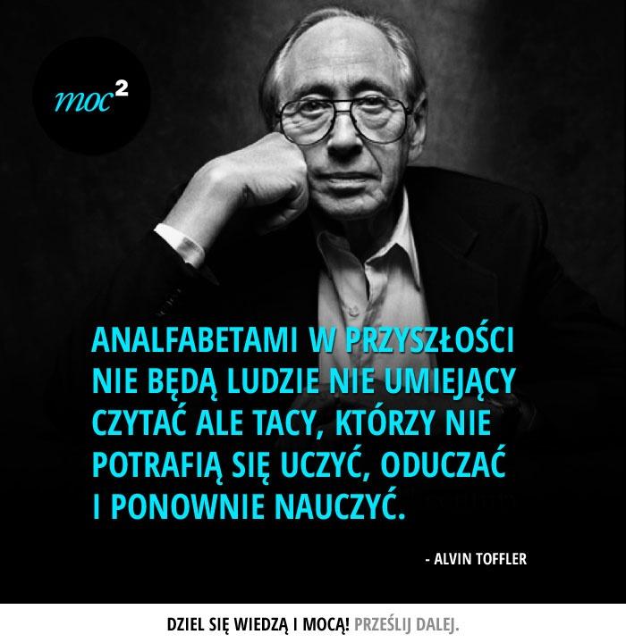 #cytaty #motywacja #AlvinToffler
