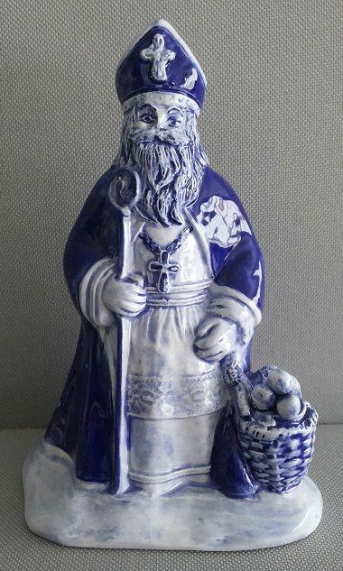 Sinterklaas 'Delfts blauw'