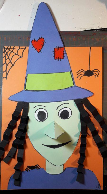 Bild. Häxa för Halloween