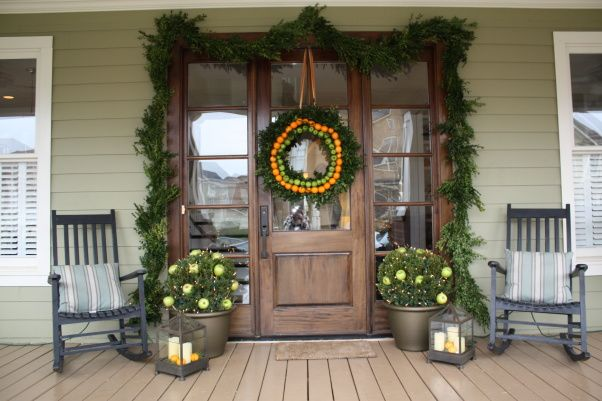 craftsman homes decorated for christmas | Warm Holiday Wishes, This home was featured in a Holiday Home Tour in ...