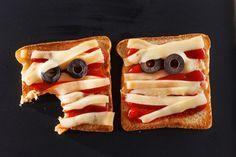 Idées de plats pour #Halloween: croque-monsieur #momies. #Recettes
