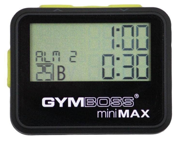 Gymboss Max interval timer (zwart)  Description: Deze kwaliteits Gymboss max intervaltimer zal een training eenvoudiger te plannen maken. Het zorgt eveneens voor een nauwkeurige training. Zo traint u optimaal in de sportschool thuis op de weg of op het veld. Te gebruiken bij: CrossFit hardlopen krachttraining en zelfs vechtsporten.? Tot 25 verschillende intervallen ? Herhaal groepen tot 99 keer ? Bewaar tot 15 programma's ? LCD-scherm met achtergrondverlichting ? Alarm door piep trilling of…