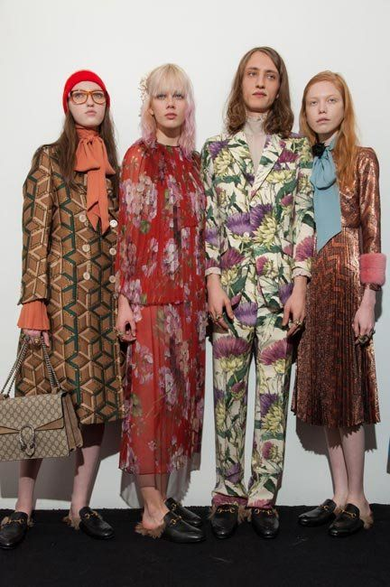 Runway Report: Gucci Hearts Wes Anderson For FW15 @ MFW | Fashion Magazine | News. Fashion. Beauty. Music. | oystermag.com