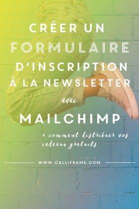 Créer un formulaire d'inscription à la Newsletter avec Mailchimp