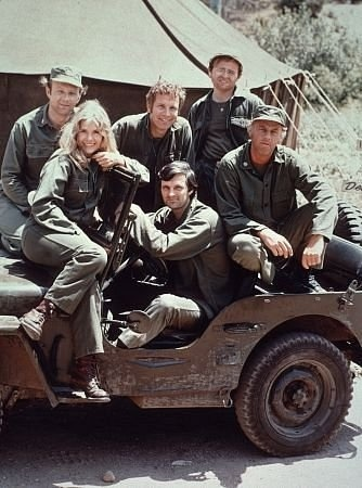 M.A.S.H. - Alan Alda, Gary Burghoff, Larry Linville, Wayne Rogers, McLean Stevenson, Loretta Swit (Original TV Cast)