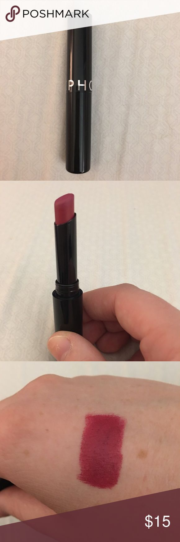 Sephora lipstick N21 Brand new Sephora lipstick. Only used to swatch. Color is too similar to other colors I have. #sephora #makeup #beauty #lipstick Sephora Makeup Lipstick