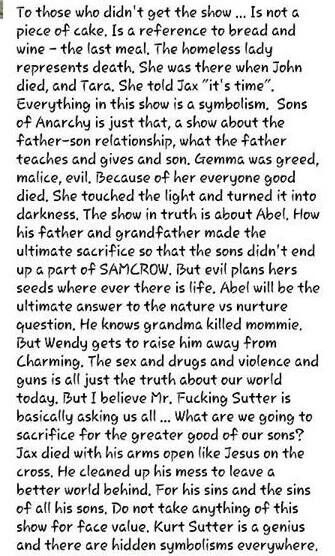 Sons of Anarchy final show
