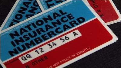 National Insurance Number  Numer Ubezpieczenia Społecznego