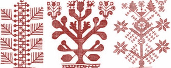Russian traditional embroidery