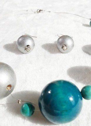 Kup mój przedmiot na #vintedpl http://www.vinted.pl/akcesoria/bizuteria/15283593-elegancki-komplet-bizuterii-naszyjnik-oraz-kolczyki