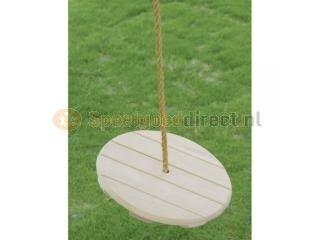 Houten Schommelplank Rond. Deze stevige houten schommel met rond zitvlak staat garant voor urenlang schommelplezier. EUR 16.99 Meer informatie