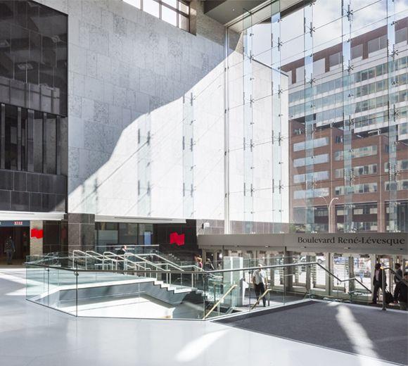 LEMAYMICHAUD | INTERIOR DESIGN | ARCHITECTURE | MONTREAL |  Complexe Desjardins – Tour Sud