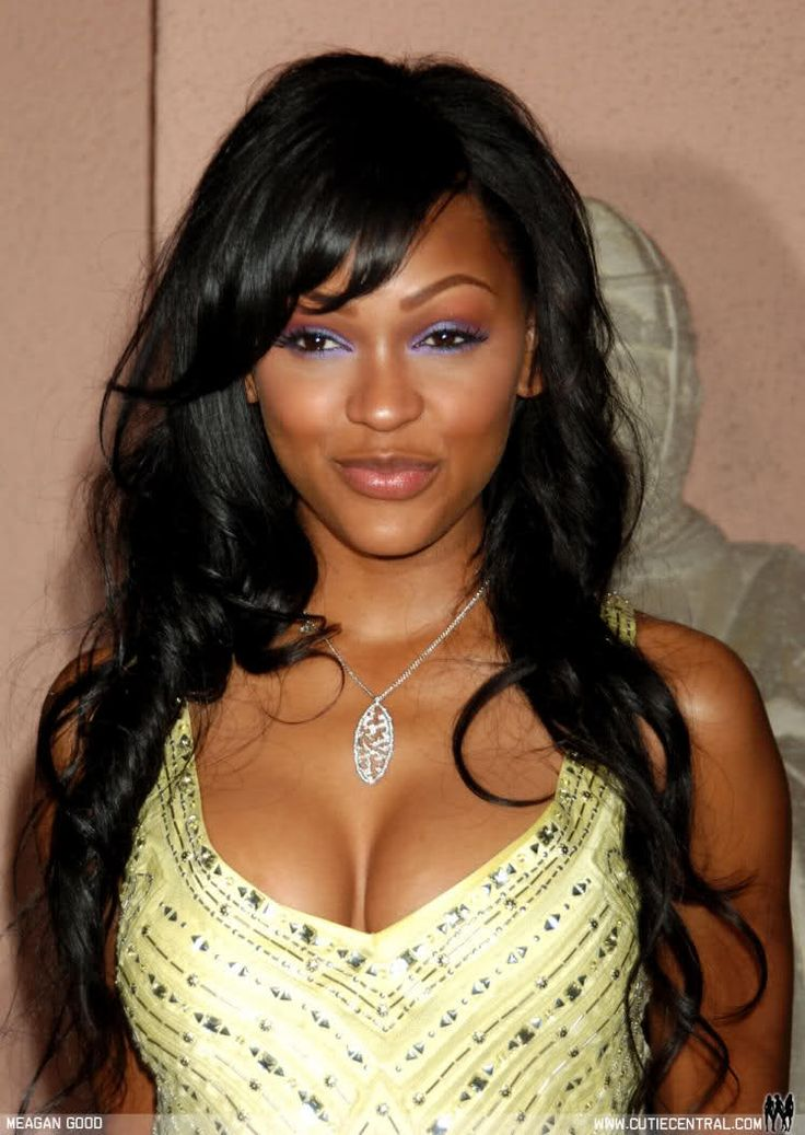 images of meagan good hairstyles with bangs wallpaper bh
