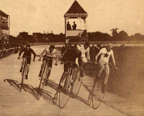 vintagw bikes pennyfarthing