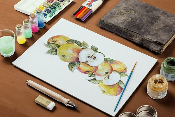Watercolor on Behance
