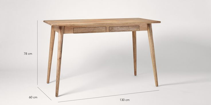 Swoon Editions Desk, scandi-minimalist style - £269