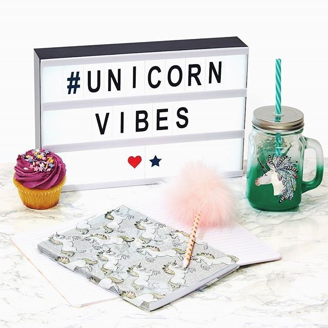 Unicorn Bedroom Accessories Primark