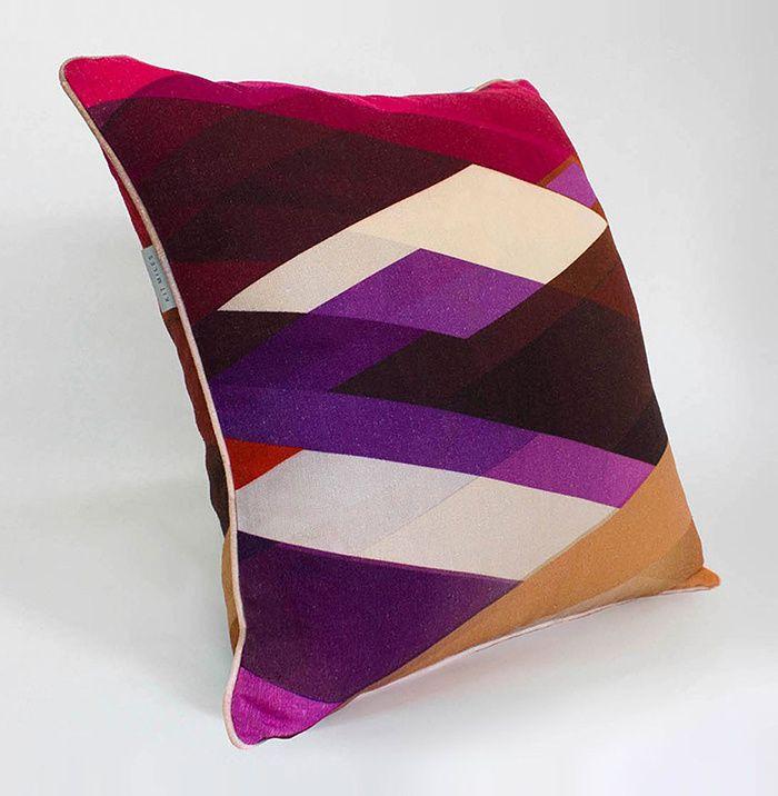 Coussin Diagonal Gradient, Kit Miles (Chiara Colombini)