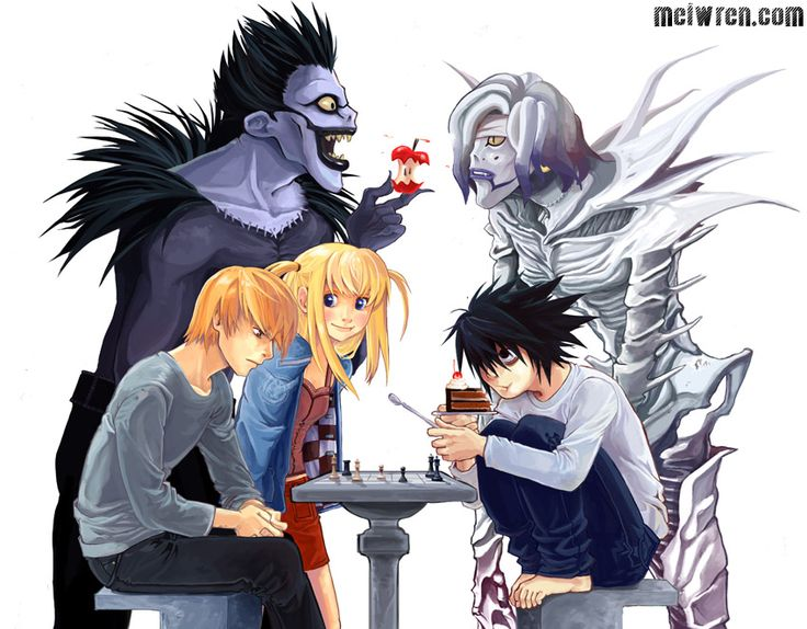 Careers that have the type of work l in death note does - Quora