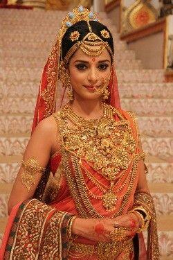 The regal Empress: Draupadi. Lord Krishna's sister and the wife of five Pandavas