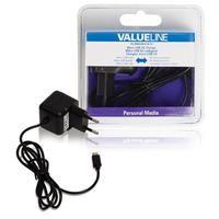 Valueline Micro-USB-lader Micro USB male - AC-huisaansluiting 100 m zwart (VLMB60891B10)  Deze USB-lader is geschikt voor het opladen van verschillende soorten mobiele apparaten thuis. Houdt u er rekening mee dat er een USB-apparaatkabel nodig is.  EUR 22.99  Meer informatie