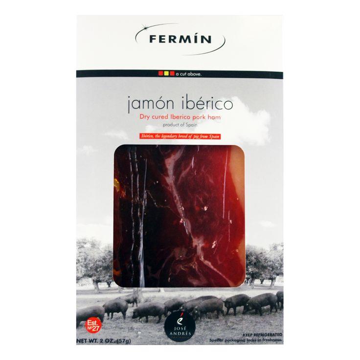 Fermin: Jamon Iberico Ham - Pre-Sliced (2 oz pack) @ https://houseofcaviarandfinefoods.com/gourmet-meats/fermin-jamon-iberico-ham-pre-sliced-2-oz-pack-detail #caviar #blackcaviar #finefoods #gourmetfoods #gourmetbasket #foiegras #truffle #italiantruffle #frenchtruffle #blacktruffle #whitetruffle #albatruffle #gourmetpage #smokedsalmon #mushroom #frozenporcini #curedmeets #belugacaviar #ossetracaviar #sevrugacaviar #kalugacaviar #freshcaviar #finecaviar #bestcaviar #wildcaviar #farmcaviar