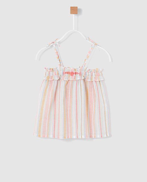 8279177ba Blusa de niña Brotes de tirantes | brotes __ | Summer dresses ...