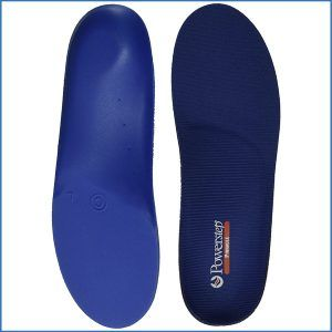 2. Powerstep Pinnacle Premium Orthotic Shoe Insoles